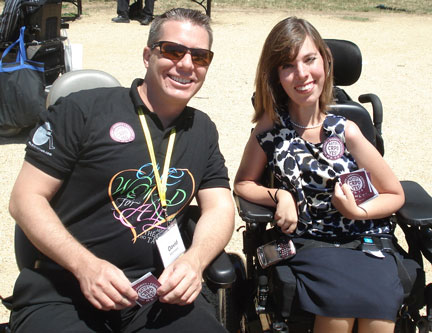 CRPD Supporters at the 2011 NCIL Rally