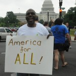 America for All 2012 sign