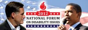 NFDI Logo with Romney and Obama
