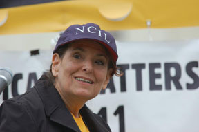 NCIL Member at the 2011 My Medicaid Matters Rally