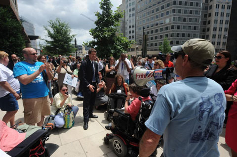 Mark Derry Speaks at the 2012 Rally at the AHLA