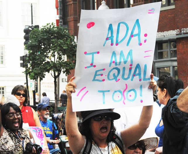 ADA - I Am Equal Too - 2013 NCIL March