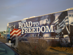 Road to Freedom Bus