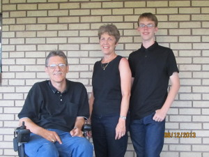 Kelly and Merle and Rodney Buckland - Family Photo