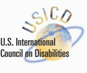 USICD Logo - US International Council on Disabilities