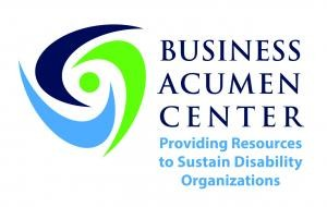 Business Acumen Center Logo - Providing Resources to Sustain Disability Organizations