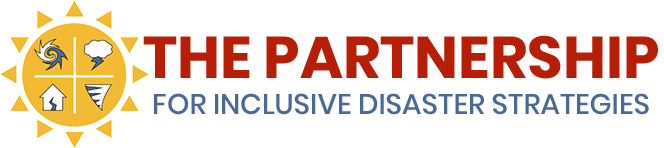 Partnership for Inclusive Disaster Strategies Logo