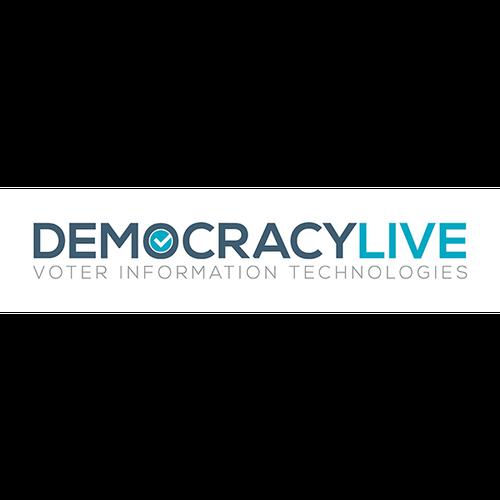 DEMOCRACYLIVE Logo Voter Information Technologies